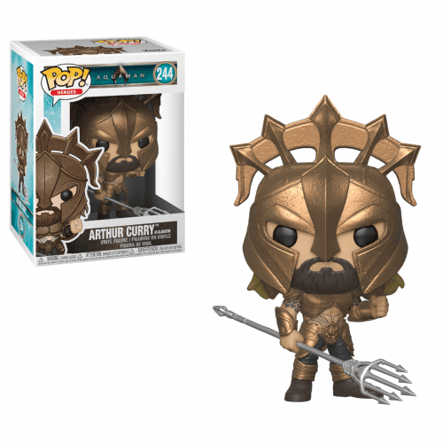 Funko Pop Vinyl Arthur Curry as Gladiator 244