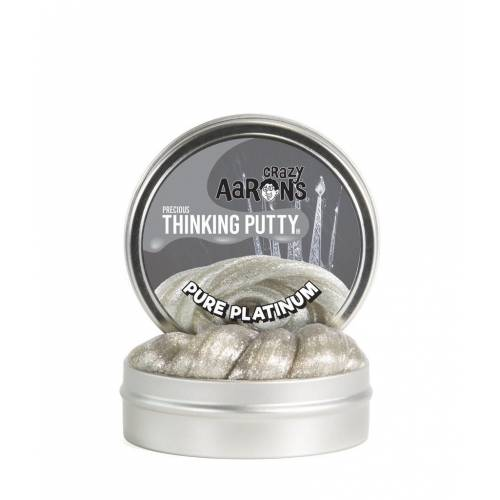 Crazy Aarons Thinking Putty Precious - Pure Platinum