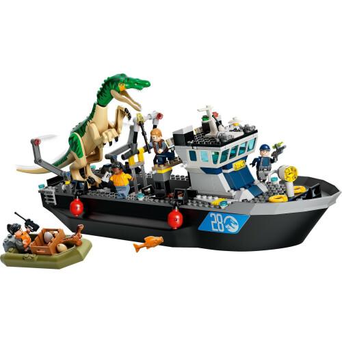 Lego 76942 Jurassic World Baryonyx Dinosaur Boat Escape