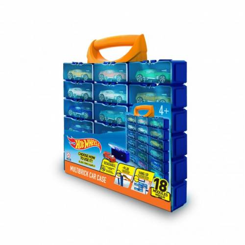 Hot Wheels Multibrick Car Case with 18 Modules