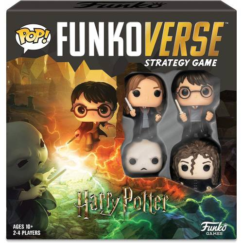 Funkoverse Strategy Game - Harry Potter (4 Pack)