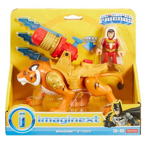 Imaginext DC Super Friends Shazam! & Tiger