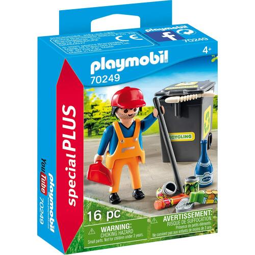Playmobil 70249 Street Cleaner