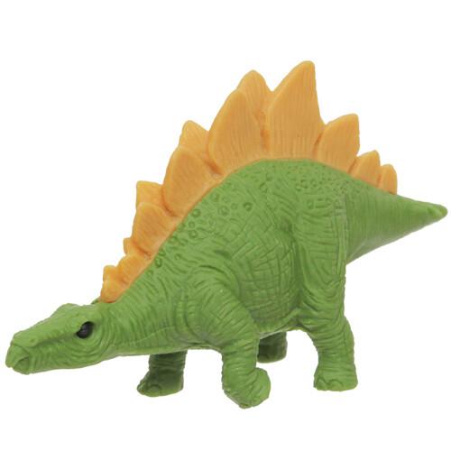 Iwako Puzzle Eraser - Dinosaur - Stegosaurus (Light Green)