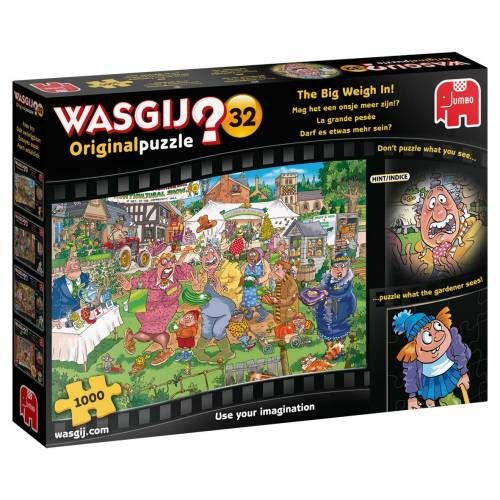 Wasgij? Original 32 1000pc Jigsaw Puzzle The Big Weigh In!