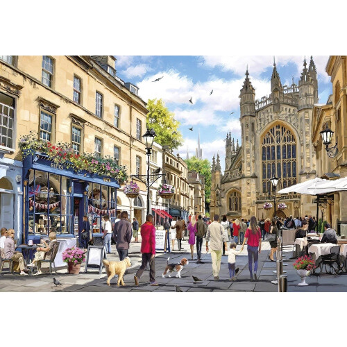 Gibsons Bath 500pc Puzzle