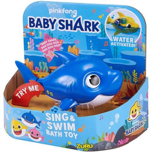 Baby Shark Sing & Swim Bath Toy - Daddy