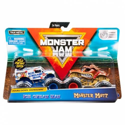 Monster Jam - 2 Pack - Ice Cream Man vs Monster Mutt