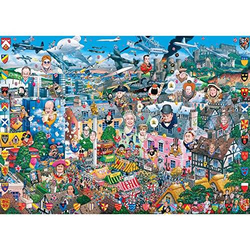 Gibsons I Love Great Britain 1000pc