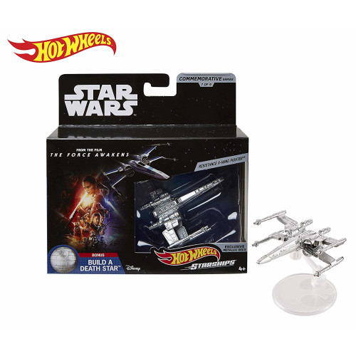 Hot Wheels Star Wars Commemorative Series - Resistance X-Wing Fighter
