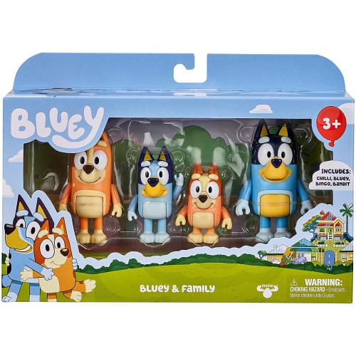 Bluey - Bluey & Family Figure Pack