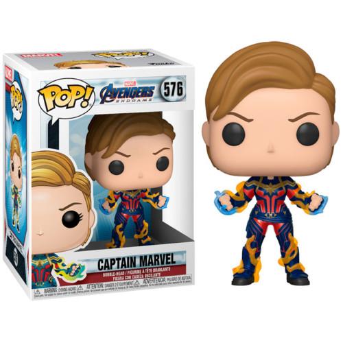 Funko Pop Vinyl - Avengers Endgame - Captain Marvel 576