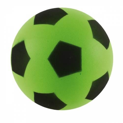 Sponge / Foam Football 17.5cm Approx size 4  - Green