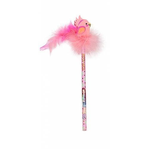 Depesche Top Model Pencil With Eraser-Topper - Cockatiel