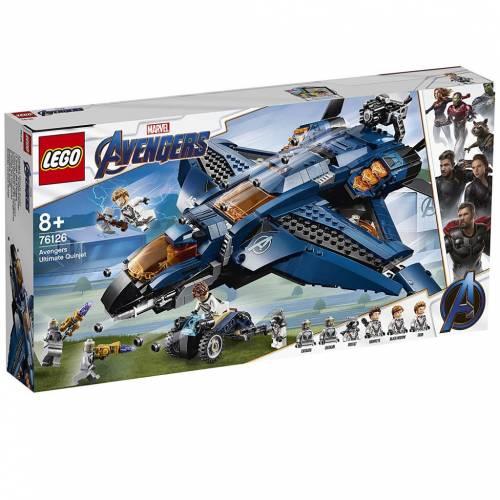 Lego 76126 Super Heroes Avengers Ultimate Quinjet