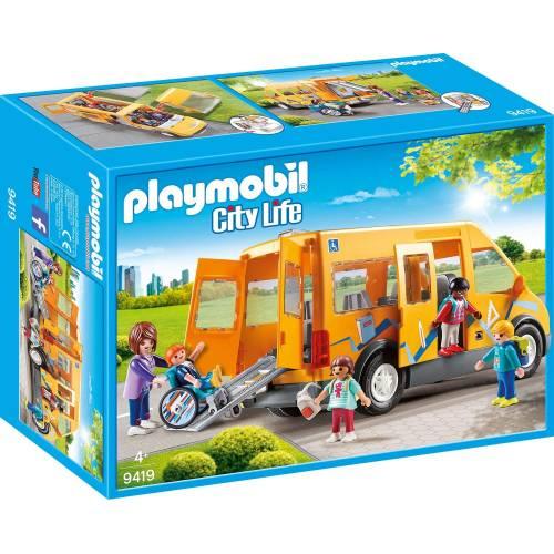 Playmobil 9419 City Life School Van