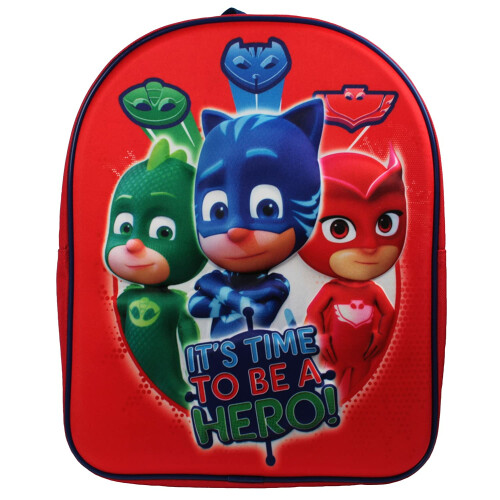 Character Backpack - 3D PJ Masks