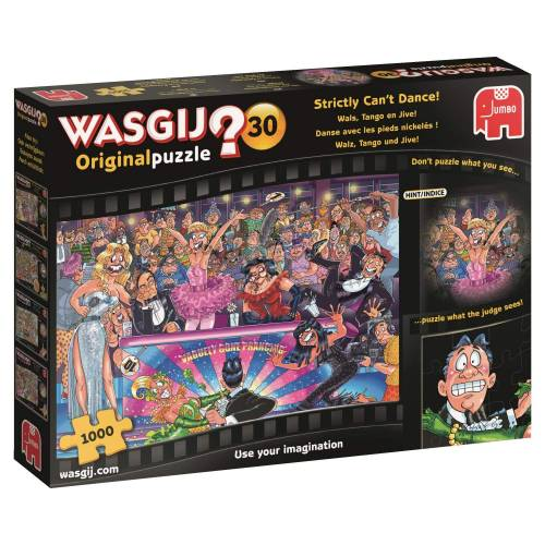 Wasgij? Original 30 1000pc Jigsaw Puzzle Strictly Can't Dance!