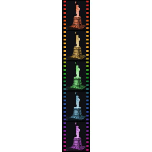 Ravensburger 108pc 3D Jigsaw Puzzle Statue of Liberty Night Edition