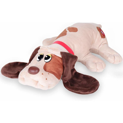 Pound Puppies Classic 17 Inch - Beige with Brown Spots