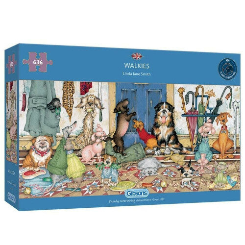 Gibsons Walkies 636pc Puzzle