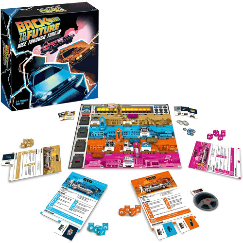 Back To The Future Dice Through Time
