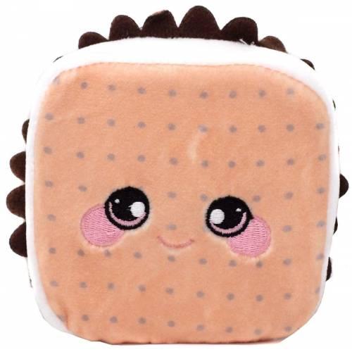 Squeezamals Dessert Series Medium Plush - Teddy the S'More