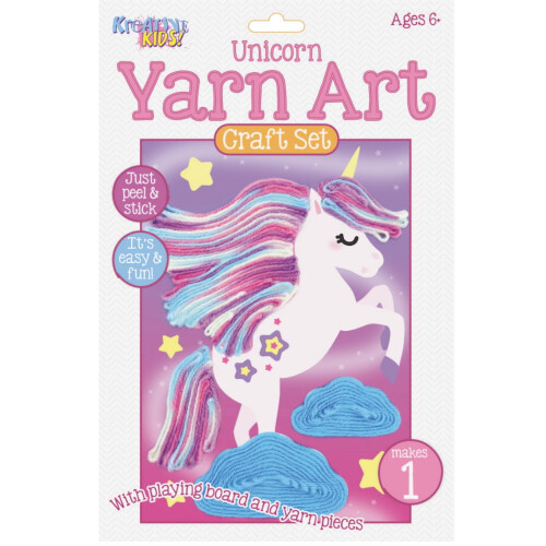 Kreative Kids - Yarn Art Craft Set Unicorn