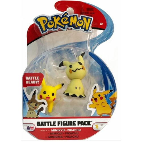 Pokemon Battle Figure Pack - Mimikyu Pikachu