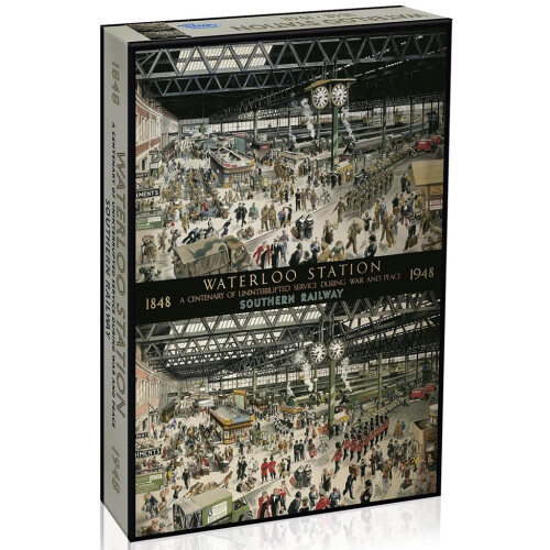 Gibsons Waterloo Station 1848-1948 1000pc Puzzle