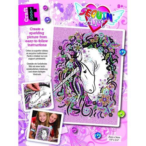 Sequin Art Ltd. Sequin Art Teen Craft Unicorn 1720