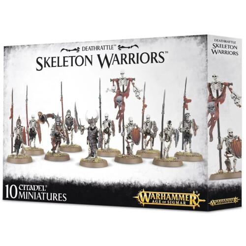 Warhammer Age of Sigmar - Deathrattle Skeleton Warriors