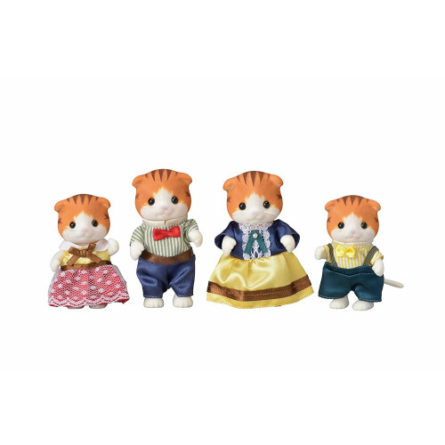 Sylvanian Families Maple Cat Family