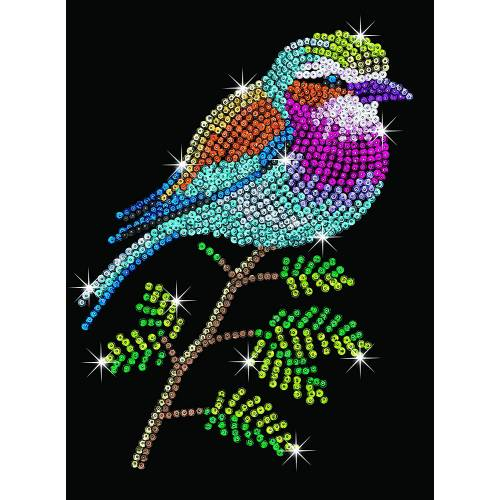 Sequin Art Limited. Sequin Art Blue Lilac Breasted Roller 1806