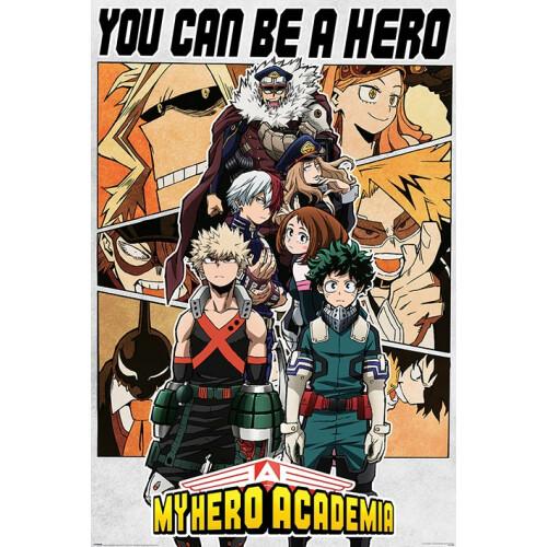 Maxi Posters - My Hero Academia (Be a Hero)
