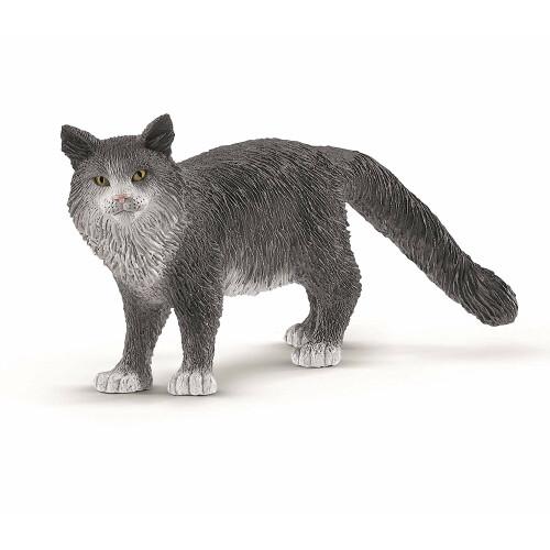 Schleich 13893 Maine Coon Cat