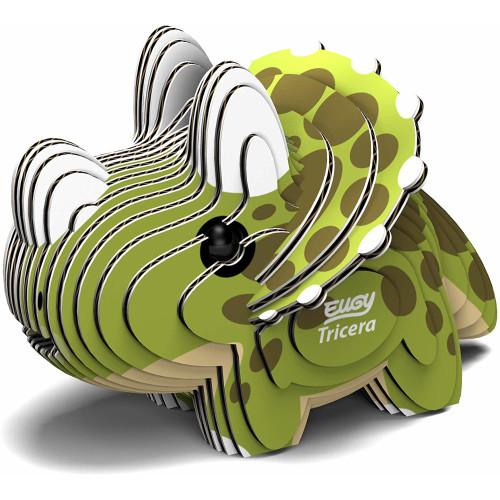 Eugy - 3D Model Craft Kit - Tricera
