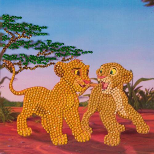 Crystal Art Disney Card Kit - The Lion King