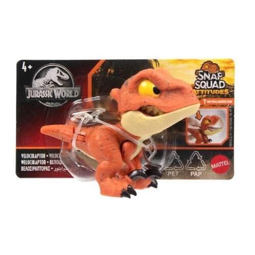 Jurassic World Snap Squad Attitudes - Velociraptor
