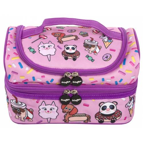 2 Part Lunch Bag - Animal Treats