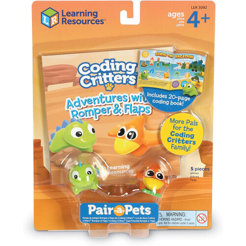 Coding Critters Pair-a-Pets Romper & Flaps