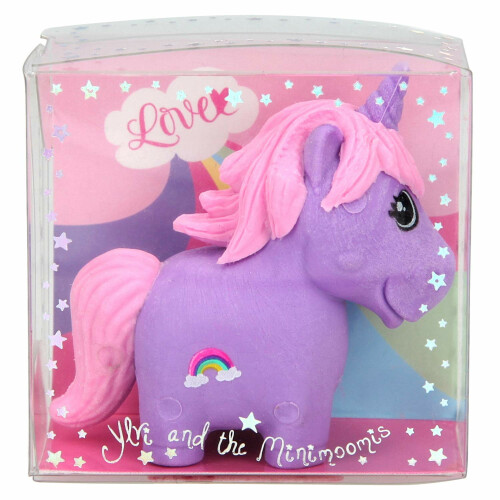 Depesche Ylvi & the Minimoomis Unicorn Eraser - Purple