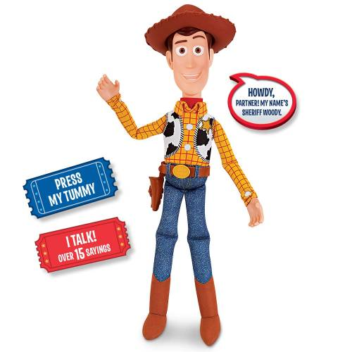 Toy Story 4 Talking Action Figure - Woody