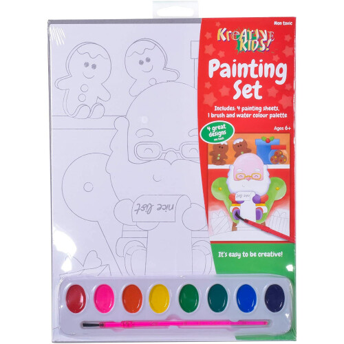 Kreative Kids Christmas Painting Set 2