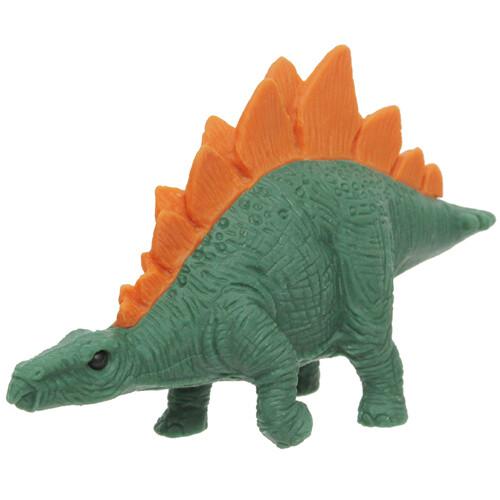 Iwako Puzzle Eraser - Dinosaur - Stegosaurus (Dark Green)