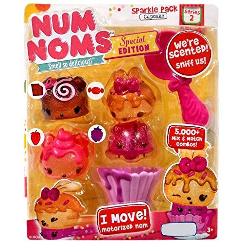 Num Noms Series 2 Special Edition Sparkle Pack Cupcake