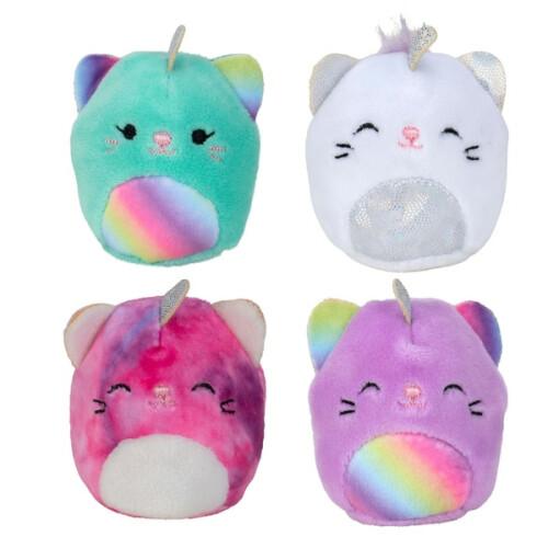 Squishmallows Squishville 4 Pack Caticorn Squad