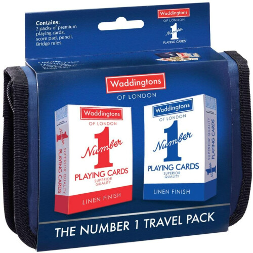 Waddingtons Playing Cards Travel Pack