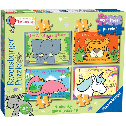 Ravensburger My First Puzzles 4 Chunky Puzzles That's not my...