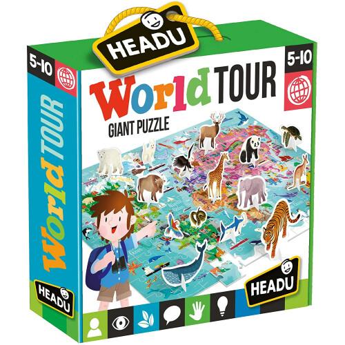 Headu - World Tour Giant Puzzle
